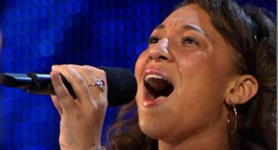 Melanie Amaro на проекте The X Factor