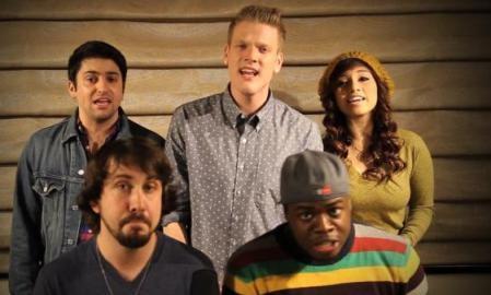 Как исполнить песни NSYNC лучше их самих показывает группа Pentatonix