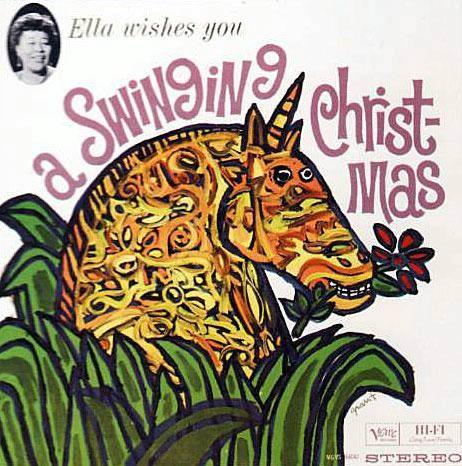 Элла Фицджеральд и рождественские песни.