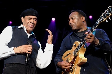 Концерт Эла Джерро (Al Jarreau) и Джорджа Бенсона (George Benson) на джазовом фестивале в Монтре (Montreaux 2007)