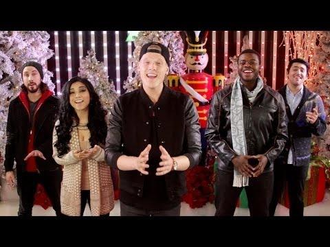 """Новое официальное видео от группы Pentatonix на песню """"Angels We Have Heard On High"""""""