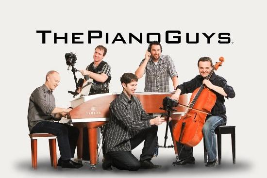 The Piano Guys - оригинальные музыкальные трактовки в необычных местах.