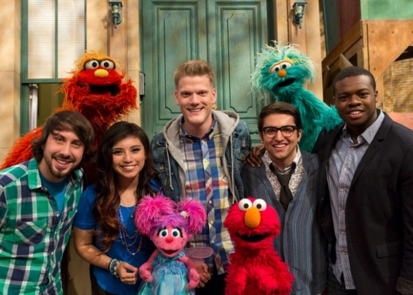 Pentatonix для детей (Sesame Street & Teen Beach Movie).