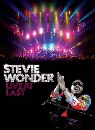 """Концерт Стиви Уандера в Лондоне под названием """"Live at Last"""" (Stevie Wonder - Live at Last,  2008)"""