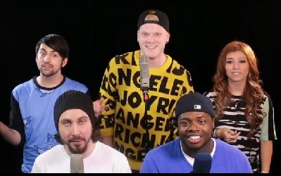 Pentatonix - Happy (Pharrell Cover)