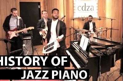 Collective Cadenza (CDZA) и ее версия развития фортепианных стилей в джазе (History of Jazz Piano)