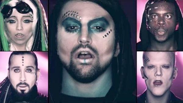 "Pentatonix и их новое видео на песню ""Love Again"""