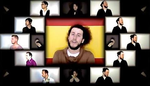 """Чумовая аранжировка песни """"Spain"""" от Sam Robson и друзей"""