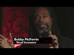 Вокальные уроки Бобби Макферрина на Q TV