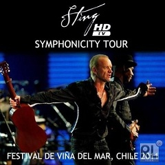 Концерт Стинга на фестивале Vina del Mar в Чили