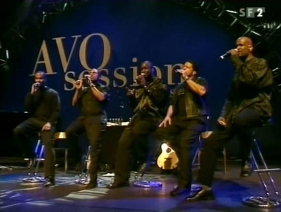 Концерт Take 6 на Avo Session Jazz Festival в Базеле