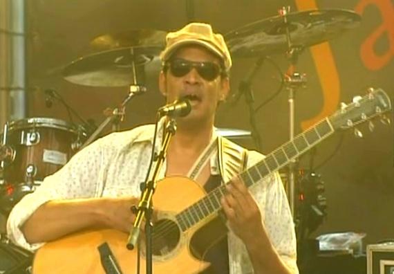 Концерт Рауля Мидона (Raul Midon) на джазовом фестивале в французском городе Вьенн (Jazz à Vienne).