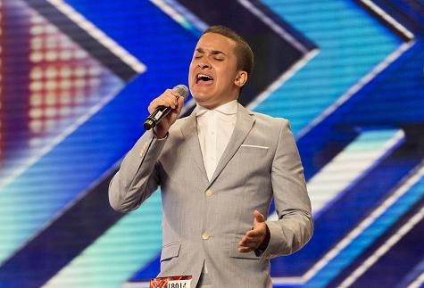 Jahmene Douglas - продавец из супермаркета, обескураживает судей The X Factor UK