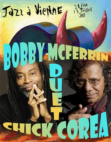 Bobby McFerrin & Chick Corea Duet - Jazz A Vienne 2012