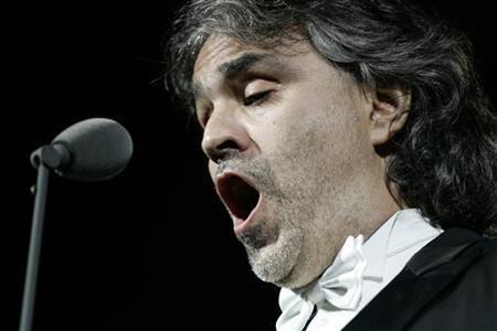 Концерт Андреа Бочелли в римском Колизее