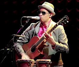 Raul Midon с концертом в Joe's Pub, NYC