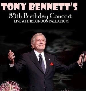 Юбилейный концерт, посвященный 85-летию Тони Беннетта.