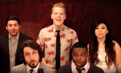 "Pentatonix с кавером на песню Джастина Тимберлейка ""Pusher Love Girl"""