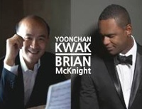 Yoonchan Kwak with Brian McKnight